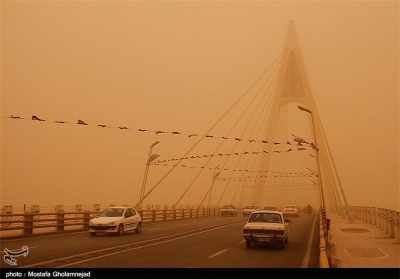 میزان گرد و غبار در هوای خوزستان اعلام شد/آلودگی هوای سوسنگرد 965 میکروگرم