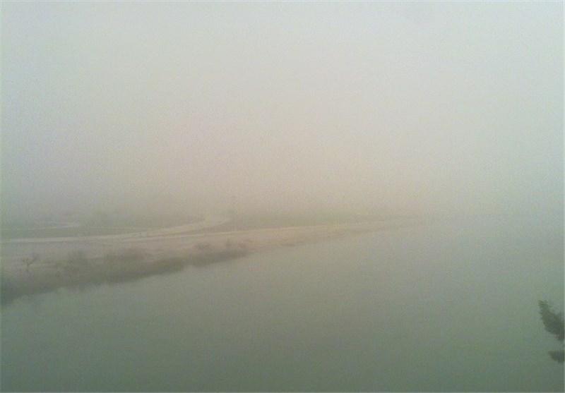کاهش کیفیت هوا در برخی نقاط خوزستان/ دما در خوزستان افزایش مییابد