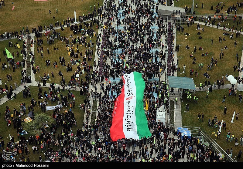 Revolution anniversary celebrated in Tehran - IN PHOTOS