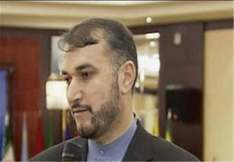 أمیرعبداللهیان : اول طائرة تحمل مساعدات انسانیة ایرانیة تهبط غدا فی جیبوتی