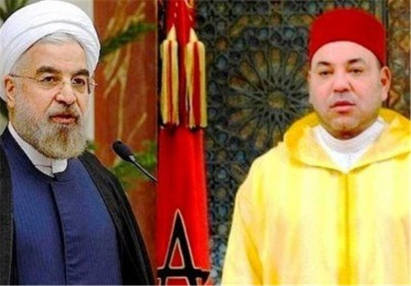 Moroccan King Congratulates Rouhani on Islamic Revolution Anniversary