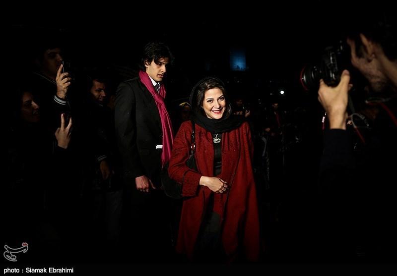عکس های بازیگران در اختتامیه جشنواره فیلم فجر 93