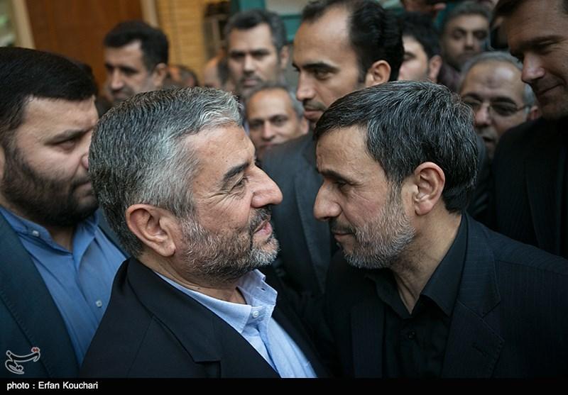 گزارش تصویری تسنیم از مراسم ختم مادر بزرگوار دکتر احمدی نژاد