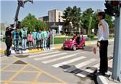 ارائه «آموزش ترافیکی» به دانش آموزان متفاوت از طرح پلیس