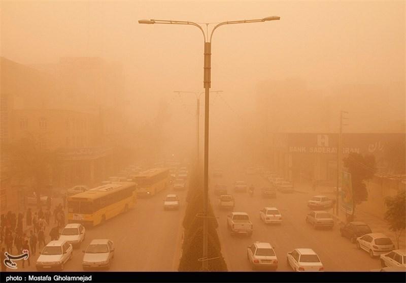 هجوم ریزگردها به آسمان اصفهان؛ شاخصهای کیفیت هوا روی خط قرمز ایستاد