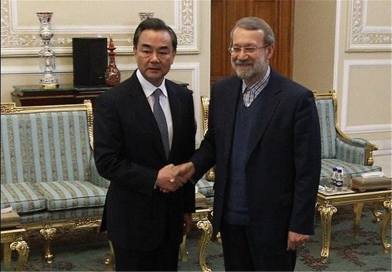 وزیرخارجه چین با لاریجانی دیدار و گفتوگو کرد