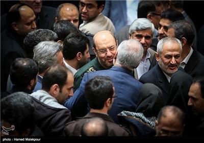 سردار حسین دهقان وزیر دفاع در پایان مراسم بزرگداشت روز فناوری فضایی