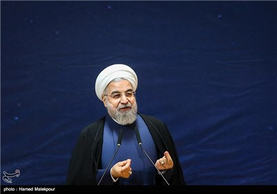 سخنرانی حجتالاسلام حسن روحانی رئیس جمهور در مراسم بزرگداشت روز فناوری فضایی