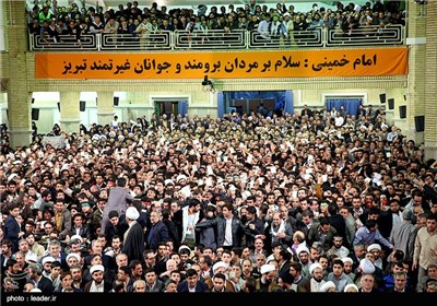 People of Iranian Northwestern Province Meet with Supreme Leader