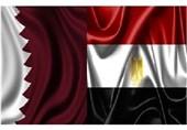 مسؤول قطری رفیع یصل القاهرة