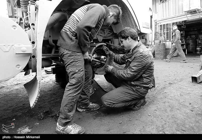 تعمیرگاه خودروهای سنگین