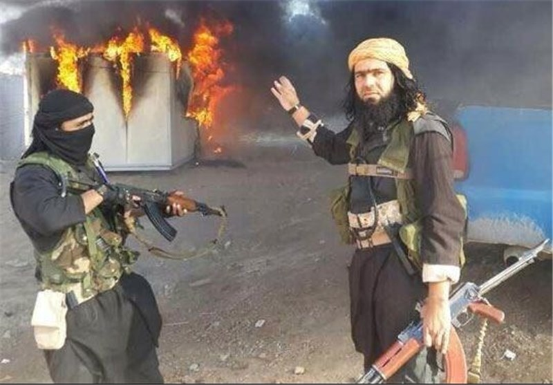 داعش یحرق