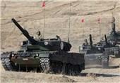 صف کشی تانکهای ترکیه در مرز ادلب