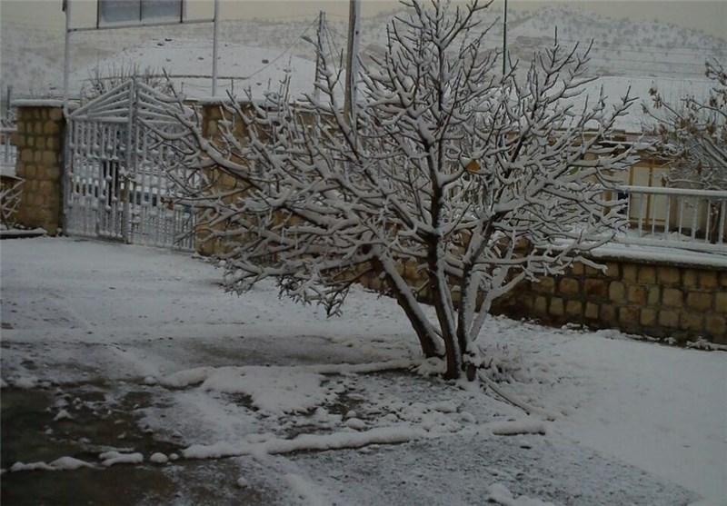 برف دهلران 4