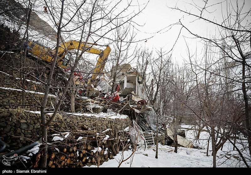 تخریب ساختمان های غیرمجاز در منطقه سنگان