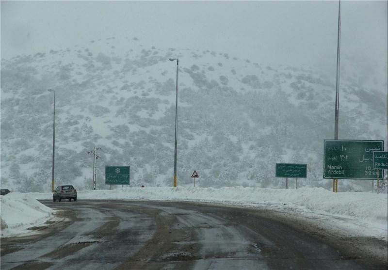 برف اردبیل 14