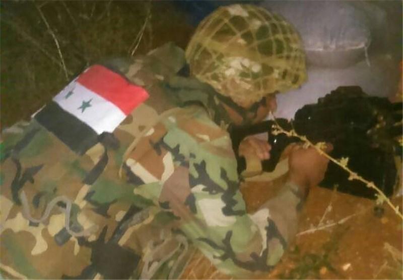 الجیش السوری یقضی على أعداد من الإرهابیین فی سلسلة عملیات فی ریف دمشق+صور