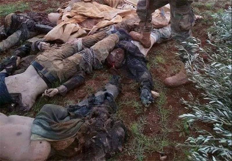 الجیش السوری یردی عدد من متزعمی العصابات المسلحة قتلى فی ریف حلب