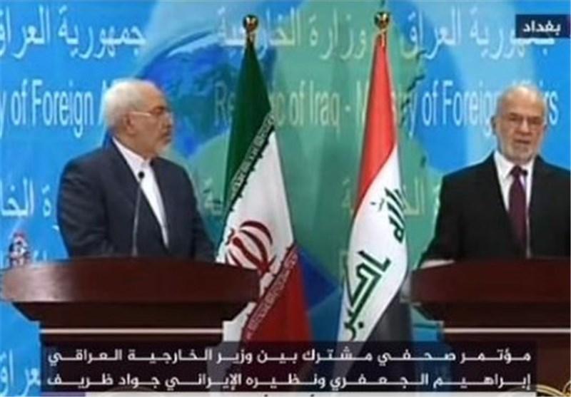 وزیر الخارجیة: ارساء الامن والاستقرار فی ربوع العراق نعتبره بمثابة أمن واستقرار ایران