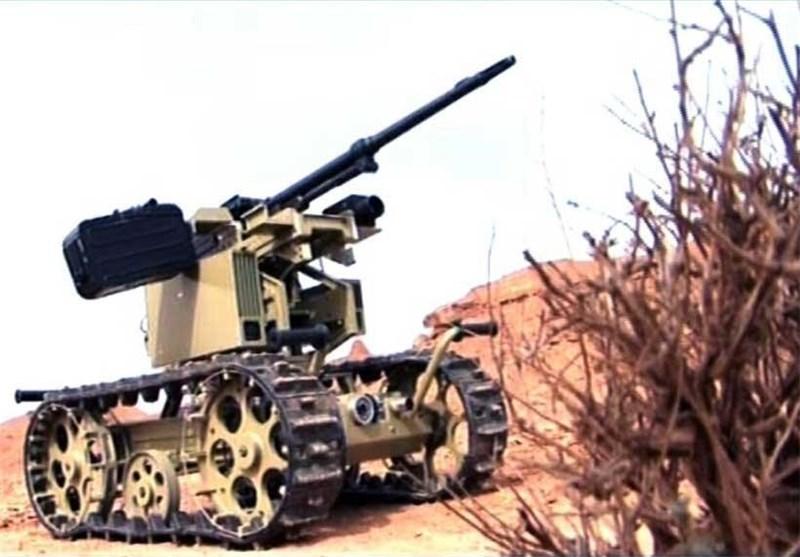 نخستین تصاویر از ربات رزمی سپاه پاسداران