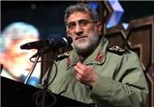 جانشین نیروی قدس سپاه: مقاومت رمز پیروزی و پیشروندگی انقلاب است