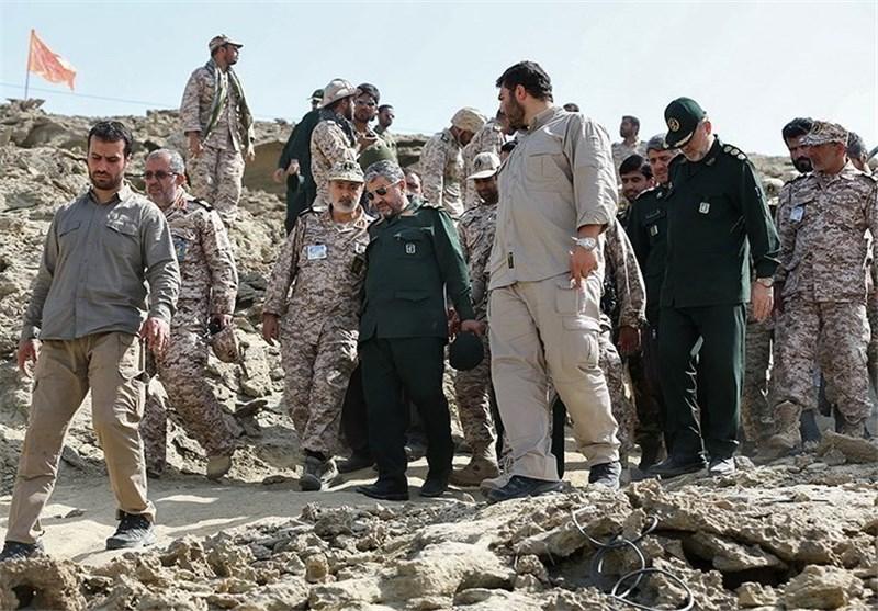 زلزله کرمانشاه|بازدید فرمانده سپاه از آسیبدیدهترین مناطق زلزلهزده