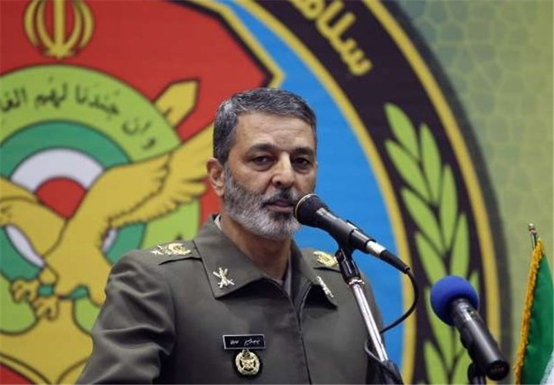 Iran Army Chief Reiterates Support for IRGC