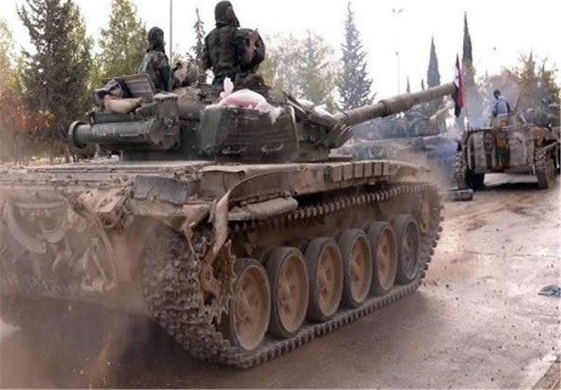 الجیش السوری یواصل عملیاته العسکریة جنوب البلاد ویسیطر على بلدة الهباریة الاستراتیجیة