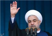 Iranian President Commends Armed Forces for Help in Coronavirus Battle