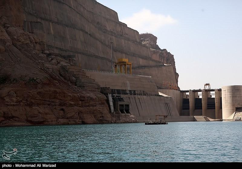 فاز دوم نیروگاه برقآبی گتوند احداث می شود/افزایش تولید برق پاک از رهاسازی آب سد گتوند