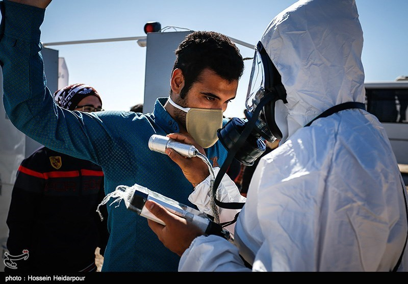 Radiation drills held in Bushehr - IN PHOTOS