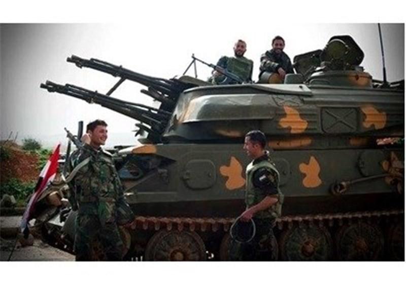 """الجیش السوری یسیطر على """"تلة القرین"""" بریف درعا ومقتل قائد عسکری للعصابات المسلحة"""