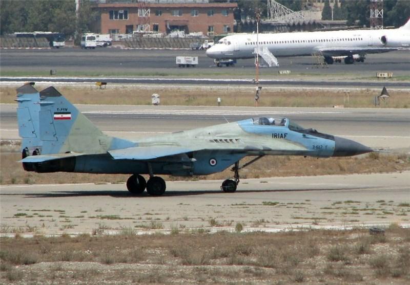 IRIAF Overhauls MiG-29 Fighter Jet