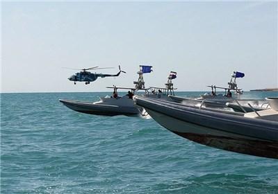 اخطار سپاه به ۷ شناور آمریکایی در تنگه هرمز