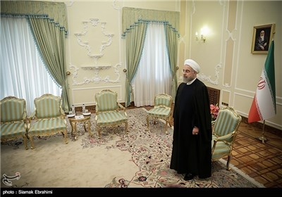 Italian Foreign Minister Meets with Iran's President