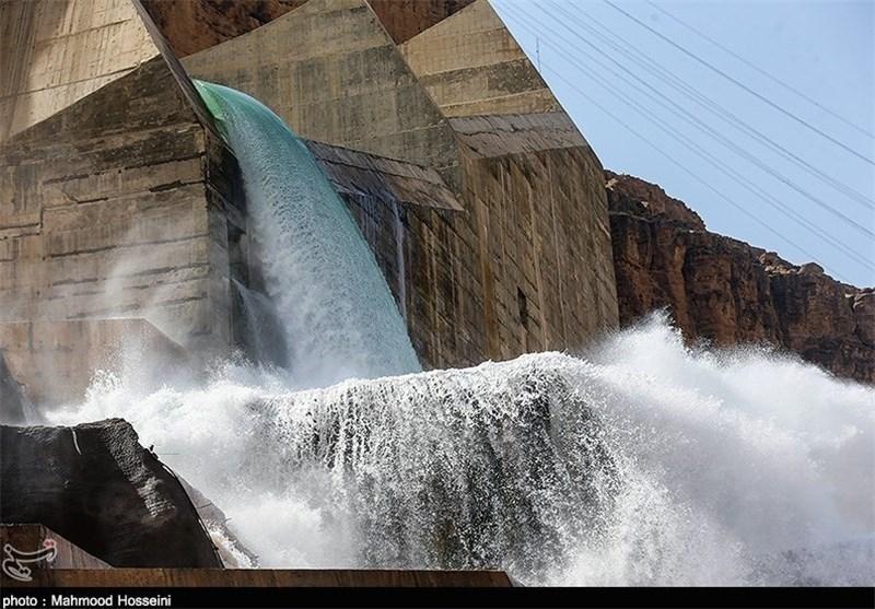 تکذیب کاهش عمدی خروجی آب از سد گتوند