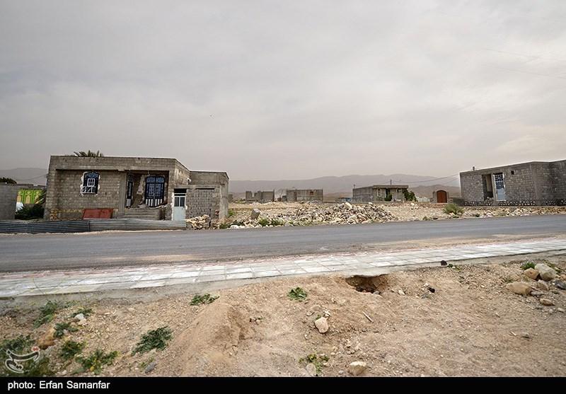 روستای زلزله زده شُمبه و کاکی بعد از گذشت دو سال از زلزله - بوشهر
