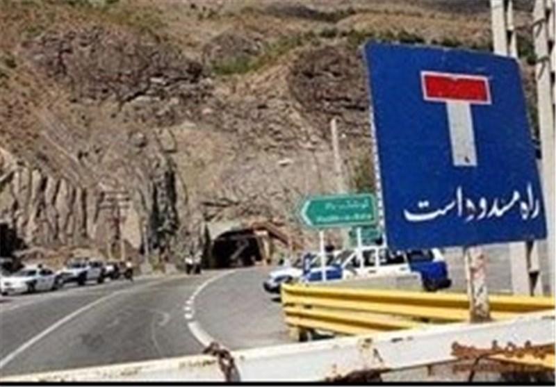 کرمان| جاده راور دیهوک مسدود است