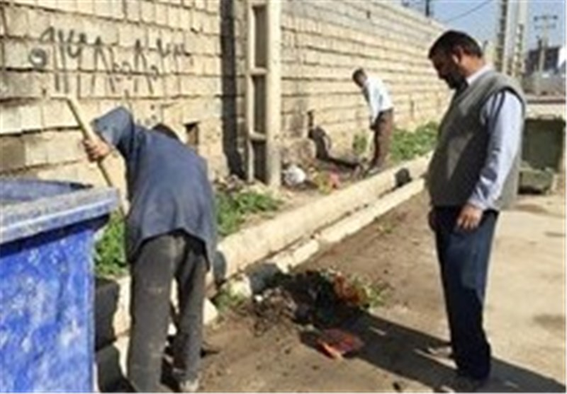 خدمات شهری خوزستان