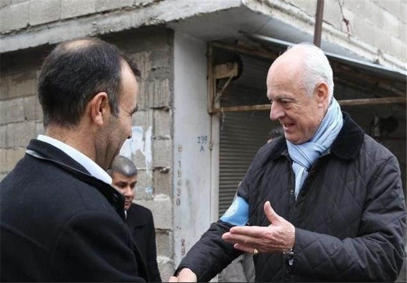 وصول وفد یمثل المبعوث الأممی إلى حلب شمال سوریا