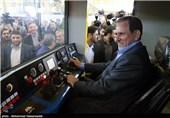 افتتاح فاز توسعه شرکت لوکوموتیو مپنا با حضور معاون اول رئیس جمهور