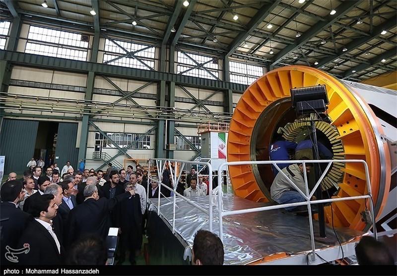 Iran Unveils First Homegrown 25 MW Generator