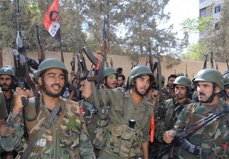 الجیش السوری یسیطر على تلة وبئر غاز ویوقع عشرات الدواعش قتلى وجرحى بریف حمص الشرقی