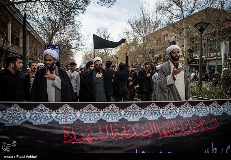 دستجات عزاداری علما و روحانیت مازندران برپا شد