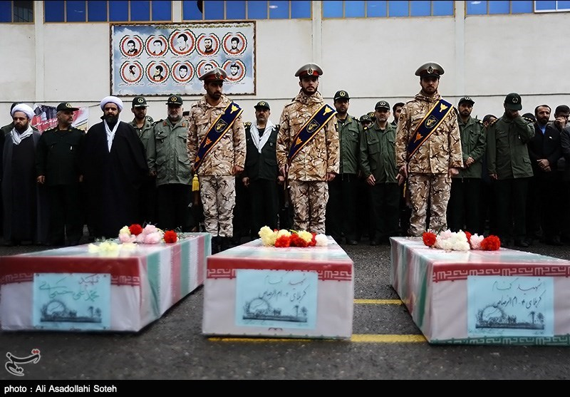 Iranians hold funeral for unknown martyrs - IN PHOTOS