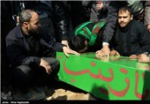 تشییع شهدای مدافع حرم - مشهد