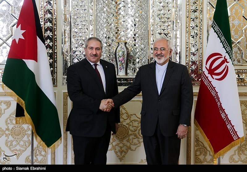 Iranian, Jordanian FMs Meet in Tehran
