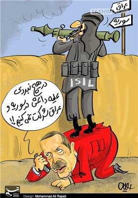 کاریکاتور/ ترکیهی بی طرف!!