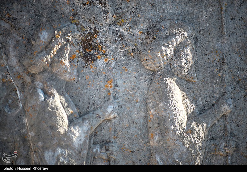 Lichens attack Achaemenid soldiers - IN PHOTO