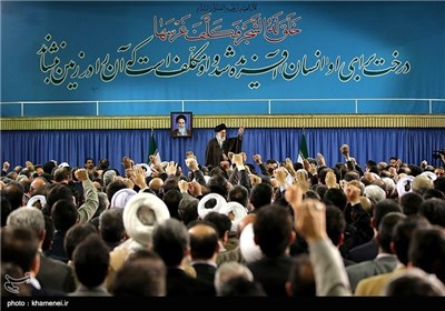 Iranian environmental officials Meet with Supreme Leader